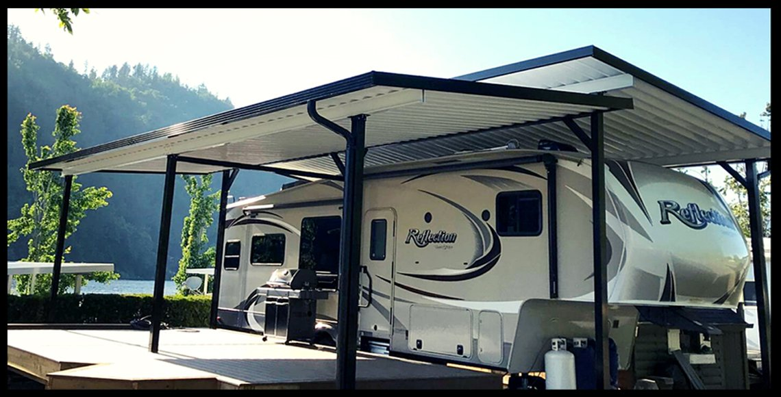 rv aluminum awning installation vancouver