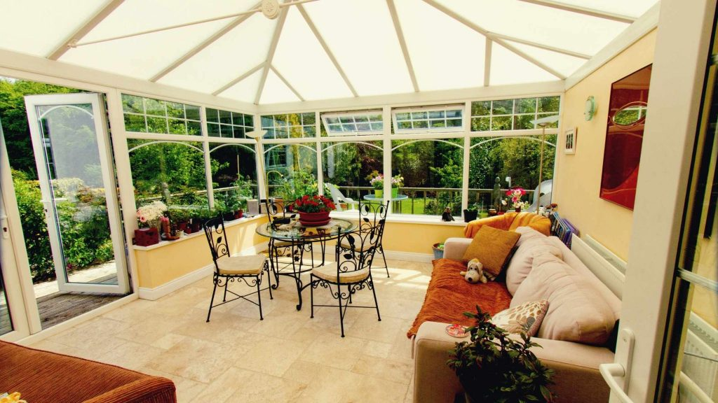 Natural Materials for sunrooms