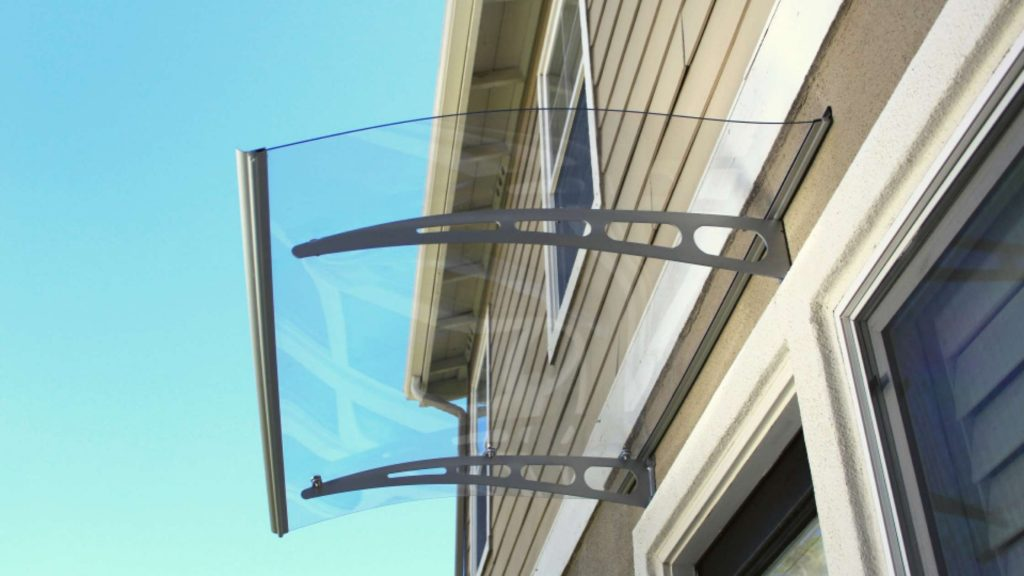 Choice of design awnings for home