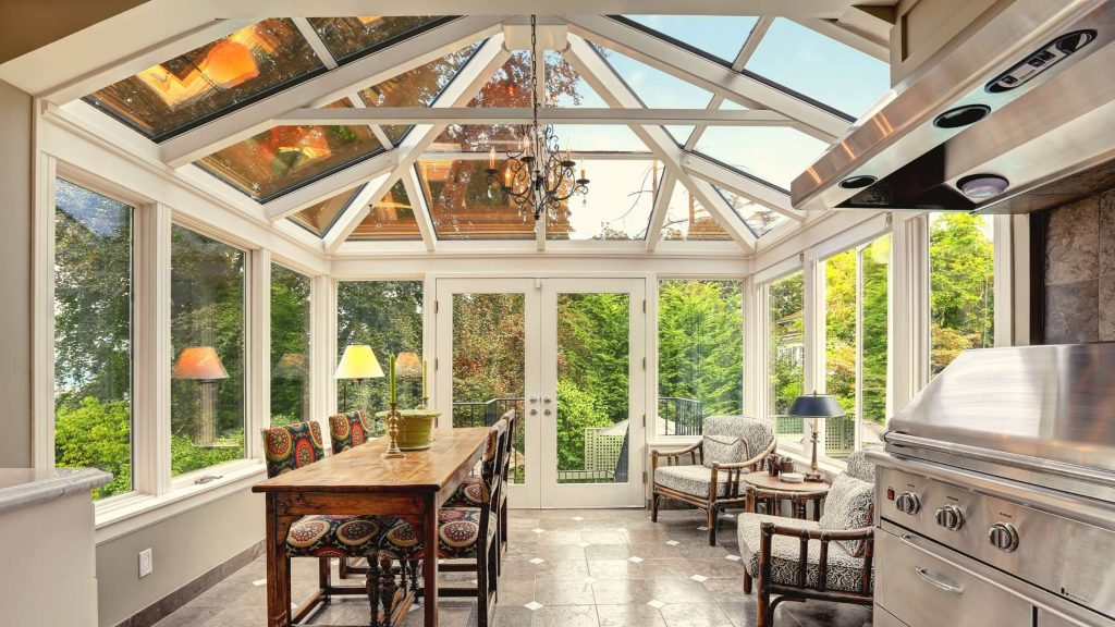 Invest in a sunroom
